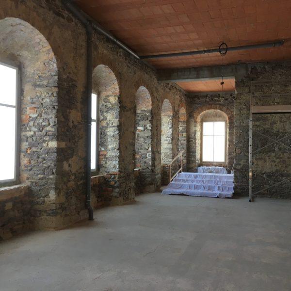 Schloss Dahlen vedlejší sál