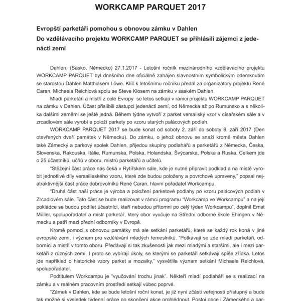 Tisková zpráva Workcamp Parquet 27_1_17_1